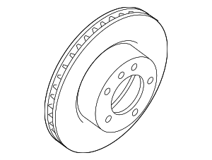 Disc Brake Rotor - Jaguar (JLM21748)