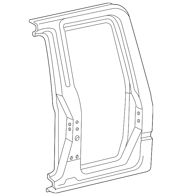 Side Panel - Toyota (61611-04021)