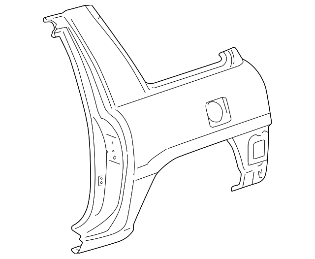 Quarter Panel - Toyota (61620-42080)