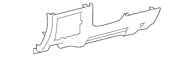 Lower Panel - Toyota (55046-0C090-C0)