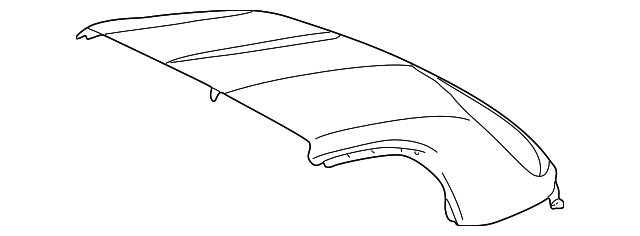 Roof Panel - Toyota (63204-17091)