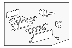 Glove Box Assembly - Toyota (55320-60021-C0)
