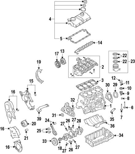 Volkswagen Parts Usa: Engine Parts