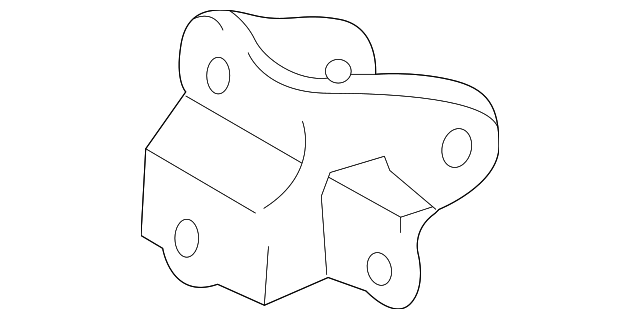 Mount Bracket - Toyota (12321-74390)