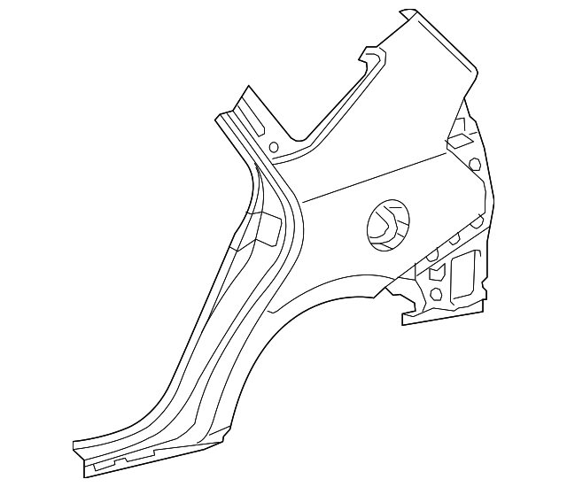 Quarter Panel - Toyota (61601-47110)