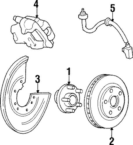 rear brakes for 1998 lincoln mark viii