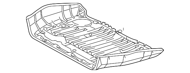 Rear Floor Pan - Toyota (58311-08031)