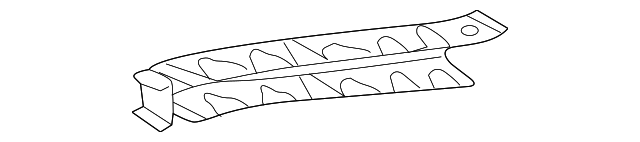 Side Rail Reinforcement - Toyota (57803-08010)