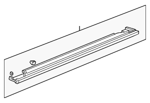 OEM Honda 71850-S9A-000 - Garnish Assembly, L Side Sill