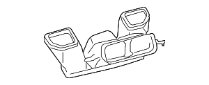 Center Duct - Toyota (55840-52070)