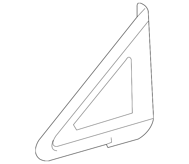 Vent Glass - Toyota (62110-0T010)