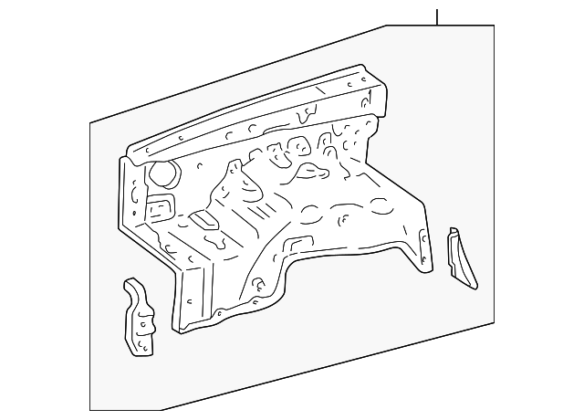 Apron Panel - Toyota (53702-35861)