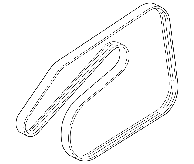 Serpentine Belt - GM (55569810)
