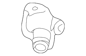 Cover, Thermostat - Honda (19311-R70-A00)