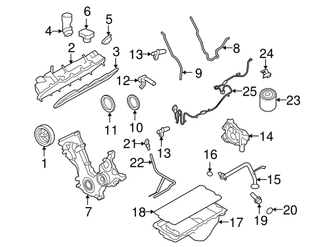 variable camshaft timing solenoid ford expedition 2005