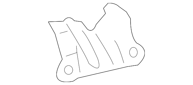 Reinforced Plate - Toyota (61247-12090)