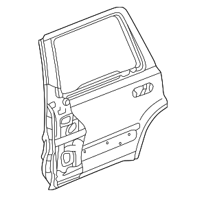 OEM Honda 67510-S10-A90ZZ - Door Shell