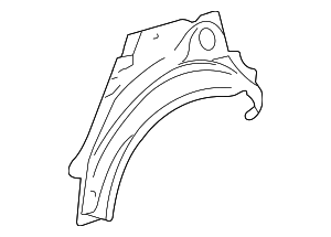 Outer Wheelhouse - Toyota (61632-52140)