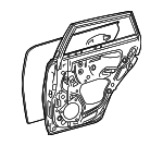 Door Shell - Toyota (67003-12B70)