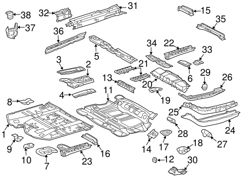 Front Reinforced - Toyota (57486-48030)