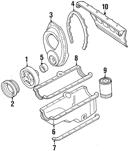 engine parts for 1994 chevrolet c1500