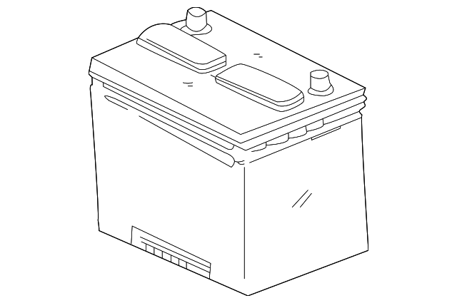 Battery - Toyota (00544-24F60-575)