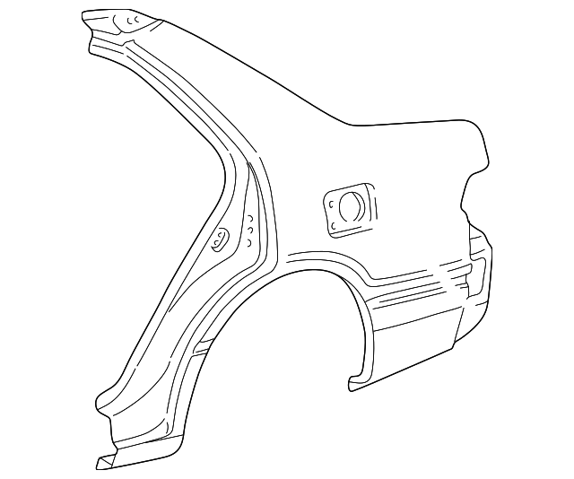 Quarter Panel - Toyota (61601-33251)