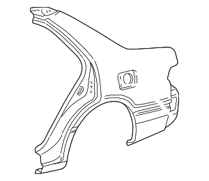 Quarter Panel - Toyota (61602-33151)