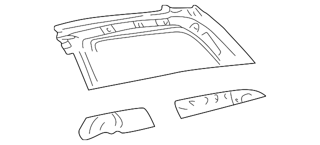 Upper Panel - Toyota (61731-08901)