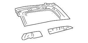 Upper Panel - Toyota (61731-08020)