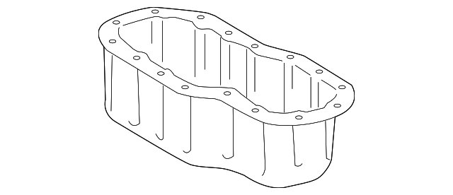 Oil Pan - Toyota (12102-0S010)