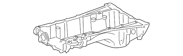 Oil Pan - Toyota (12111-0S011)
