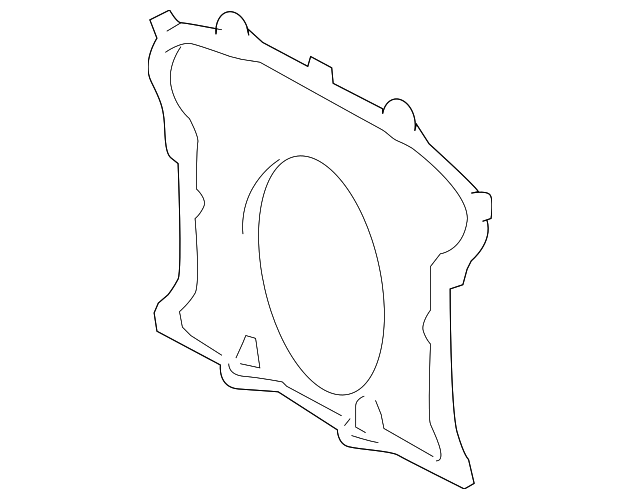 Rear Main Seal Retainer - Toyota (11381-0S010)