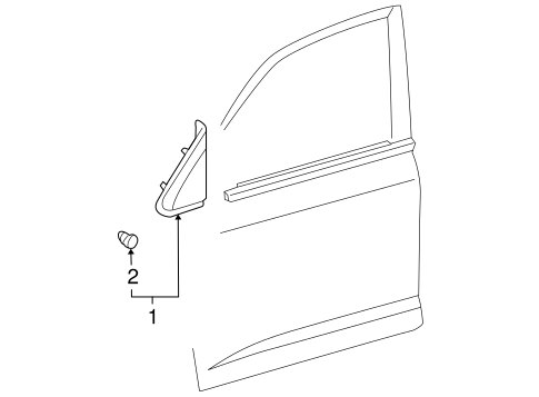 Pillar Trim - Toyota (60118-60010)