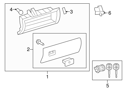 Door Assembly Stopper - Toyota (55054-0C020)