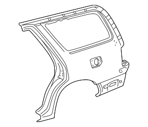 Quarter Panel - Toyota (61612-35160)