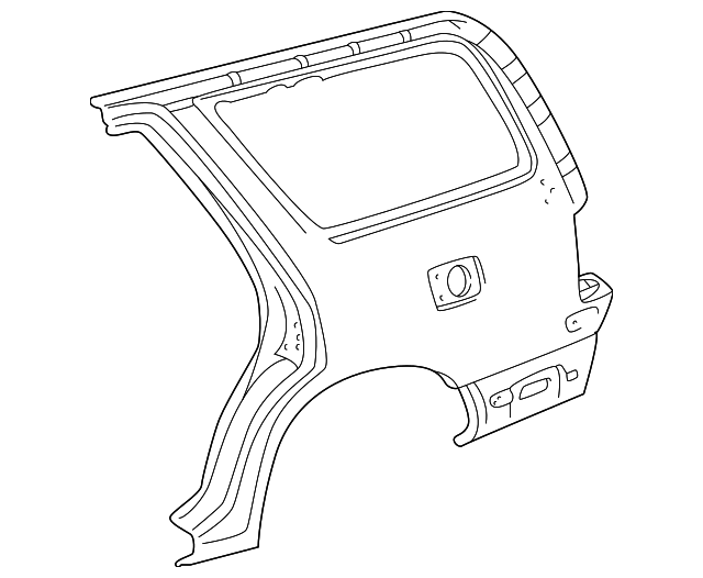 Quarter Panel - Toyota (61612-35170)