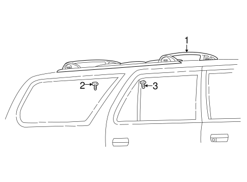 BODY/LUGGAGE CARRIER for 2000 Toyota 4Runner #1