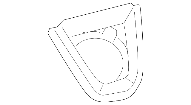 Hole Cover - Toyota (58808-12310-B0)
