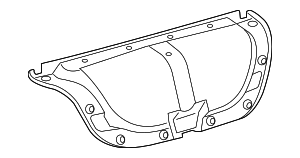 Trunk Lid Trim - Toyota (64719-33070-C0)