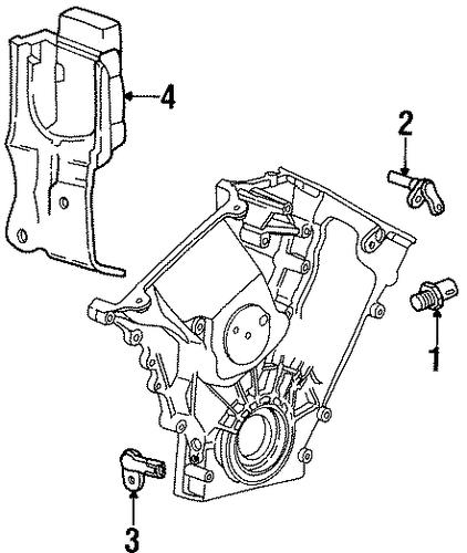 POWERTRAIN CONTROL For 1997 Ford Taurus
