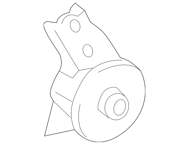 Rear Insulator - Toyota (12371-0P200)