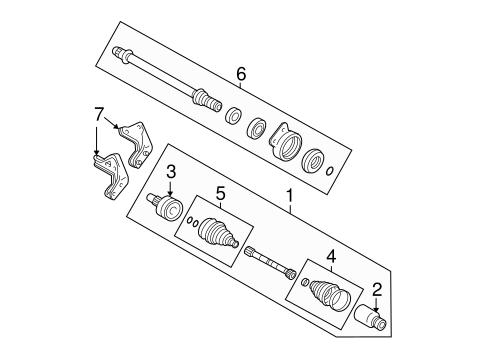 2008 mercury mariner suspension wiring sourceparts diagram on 2008 mercury mariner suspension drive axles scat on 2008 mercury mariner suspension