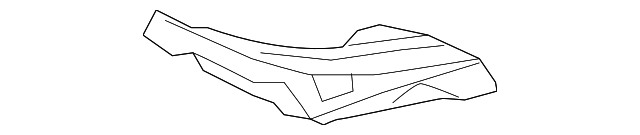 Reinforced Panel - Toyota (58115-0E020)