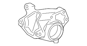 Rear Mount Bracket - Toyota (12321-0P050)