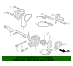 1990 Honda ACCORD COUPE LX BOLT, FLANGE (6X20) - (957010602008)