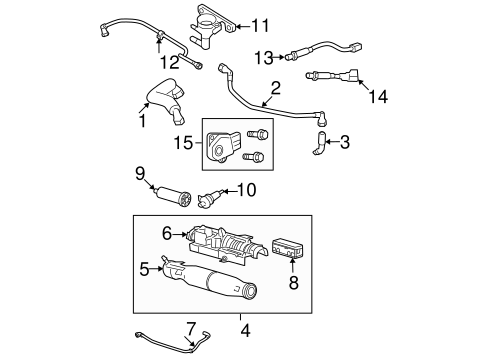 T11484027 1996 ford f150 front end part diagrams furthermore 97 Chevy Blazer Steering Column Diagram also T17488487 Show picture diagram vacuum hoses 1984 in addition 400371291880 besides 361883524876. on 94 ford f 150 5 8