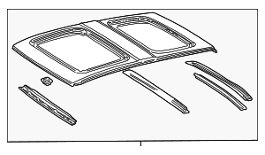 Roof Assembly - Toyota (63101-42021)
