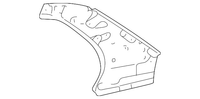 Upper Panel - Toyota (61732-12721)