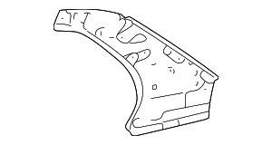 Upper Panel - Toyota (61732-02081)